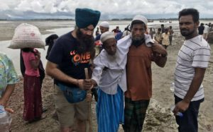 Khalsa Aid working tirelessly to help Rohingya Muslims & Hindus