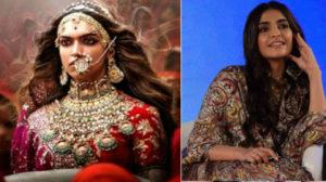 Hope no film faces protests like 'Padmaavat Sonam Kapoor