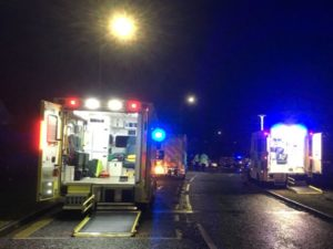 Stevenage care home: Elderly man dies in fire after 'explosion'