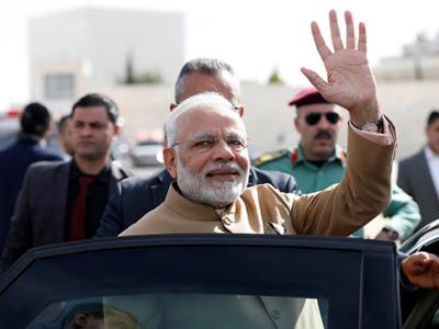 PM Modi Conferred Grand Collar Of The State Of Palestine