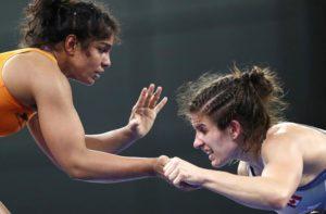 Vinesh, Sumit claim gold; Sakshi bronze on last day of CWG wrestling