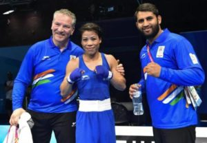 India at CWG: Mary Kom claims gold on CWG debut