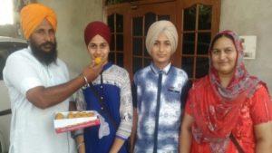 Daughter of a Barnala farmer bagged third rank in CBSE Class 10 exams