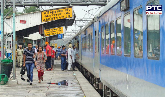Amritsar railway station Electronic Interlocking System linking Work Perfect,tomorrow Trains Restart