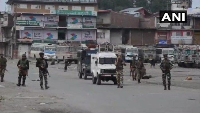 J&K: Encounter underway between terrorists and security forces