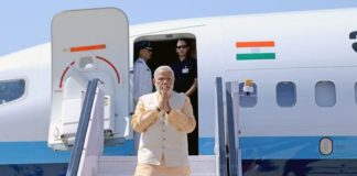 PM Modi reaches South Africa to attend 10th BRICS Summit