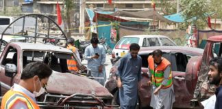 Voting ends in Pakistan; 35 killed in suicide blast, poll-related violence