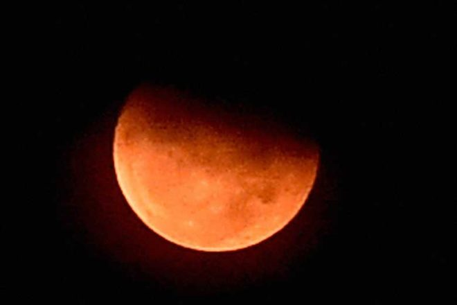 Chandigarh Watch The Blood Moon Tonight! Here's When!