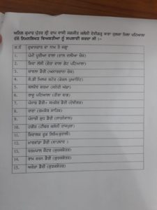 adulterated milk suppliers list issued by police