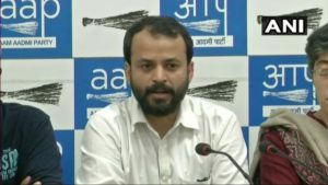 AAP leader Ashish Khetan resigns from AAP party