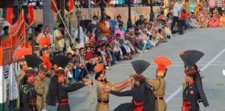 new gate border attari border retreat ceremony
