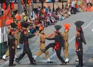 attari border retreat ceremony