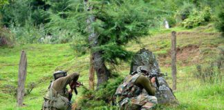 Army Major among 4 dead as massive counter-infiltration operation under way