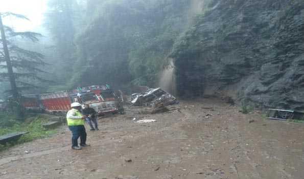 7 members of family buried alive in landslide