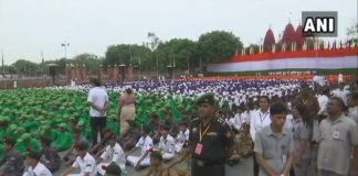 Full dress rehearsal at Red Fort ahead of Independence Day 2018