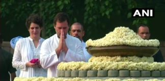 Sonia Gandhi, Rahul Gandhi pay tribute to Rajiv Gandhi on his birth anniversary