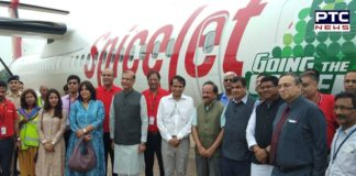 India's first biofuel-powered test flight successfully lands in Delhi