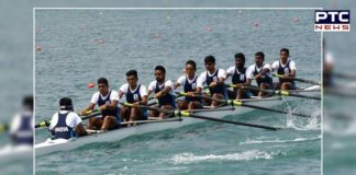 Indian Rowing Team Wins Gold In Men's Quadruple Sculls At Asian Games