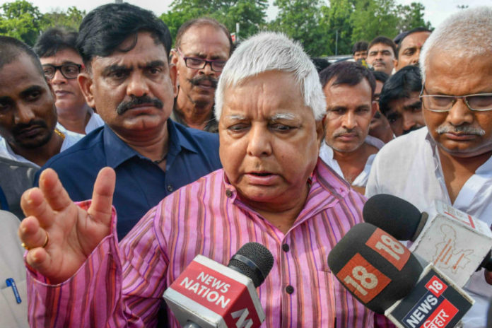 'Frightened Modi Making Way for Emergency': Lalu Prasad on Arrest of Activists