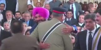 SAD lambasts Navjot Sidhu for insulting martyr families by hugging Pak army chief