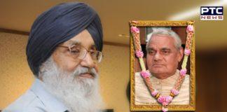 Sukhbir Singh Badal mourns Shri. Atal Behari Vajpayee's death