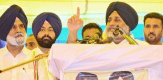 Punjabis Cong conspiracy Ranjit Singh Comm and bogus Jathedars SAD and wrest control SGPC succeed - Sukhbir Badal