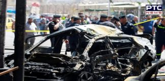 Eight killed in car bomb attack at Iraqi checkpoint on Wednesday
