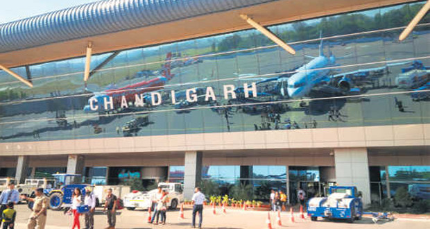 Inadequate fire safety arrangements found during inspection at Chandigarh International Airport