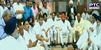 Punjab Vidhan Sabha: Akali legislators brought out their session outside the House