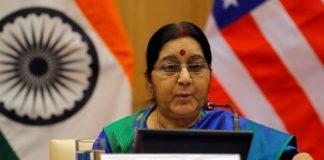 Sushma Swaraj talks of boosting business relations between India and Kazakhstan