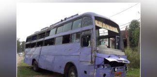 Gurdaspur In bus reversal Due One Death ,8 Injured