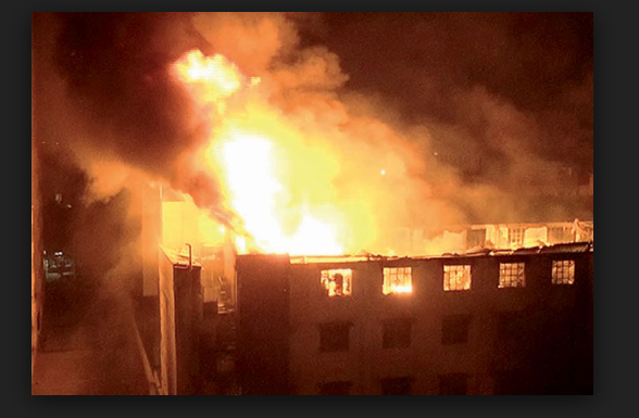 Panipat: Factory Terrible fire , Crores of Damage