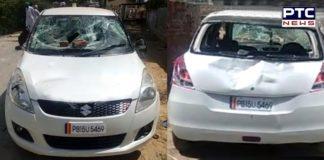 Sri Muktsar Sahib Lambi dhab Congressmen Vehicle erosion