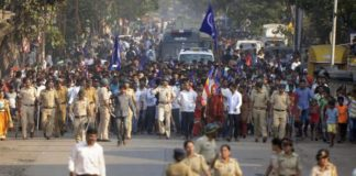 Bandh situation across country at 1700 hrs