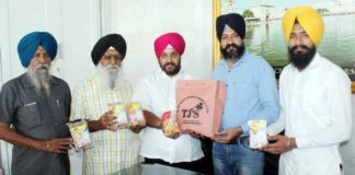 Tihar Jail's bakery items offered to devotees at Golden Temple for langar