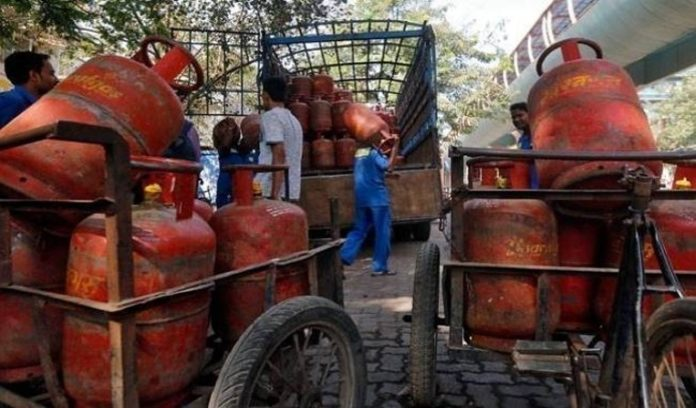 LPG At prices Grew up