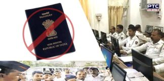 If you have pending traffic fines, then no Passport for YOU!