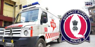 Vigilance Bureau Conducts Surprise Checking Of 'Dial-108' Ambulances In Punjab