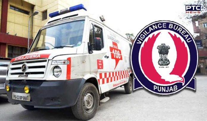 Vigilance Bureau Conducts Surprise Checking Of 'Dial-108' Ambulances In Punjab