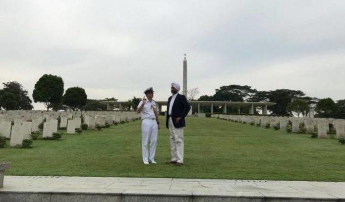 Manpreet Singh Badal Pays Tribute To 5,000 Punjabi Soldiers Of II World War In Singapore