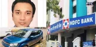 HDFC Bank vice president missing, car with blood stains found