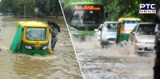 Chandigarh received the highest rainfall in the past eight years