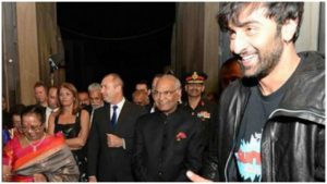 Ranbir Kapoor, Alia Bhatt welcome President of India on sets of 'Brahmastra'