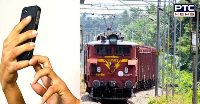 A young man train coach Roaring Selfie Expensive