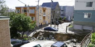 Earthquake Japan: Homes buried Under Landslide, Millions Without Power