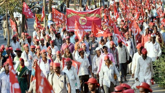Farmers-workers rally in national capital demanding loan waiver, min wage of Rs 18,000