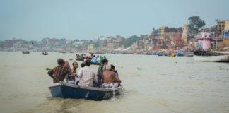 Ganga River Danger Mark Up Flowing , Safe places Sent people