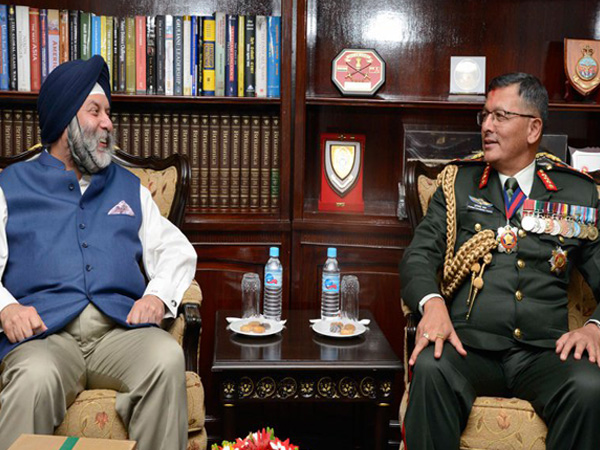 Indian Envoy Meets New Nepal Army Chief Today.