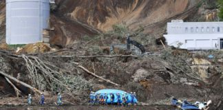 Death toll nears 40 in northern Japan earthquake on thursday