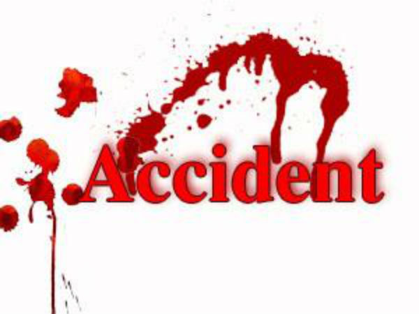 Nawanshahar Bus and motorcycle Accident ,woman Death , Son Injured